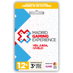 Madrid Gaming Experience. Acceso Viernes