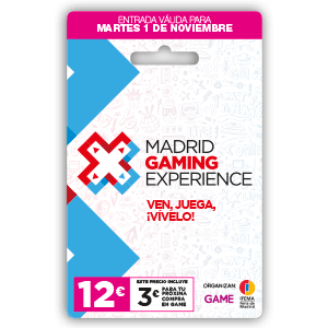 Madrid Gaming Experience. Acceso Martes