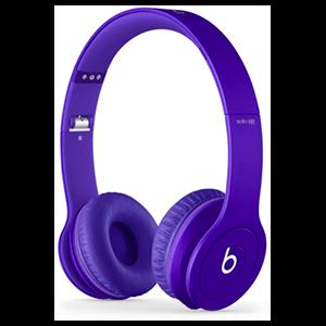 Beats Solo HD Morado Reacondicionado