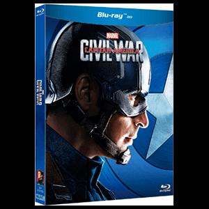 Capitán América: Civil War - Bando Capitán América BD