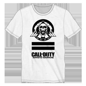 Camiseta COD Infinite Warfare Blanca Talla L