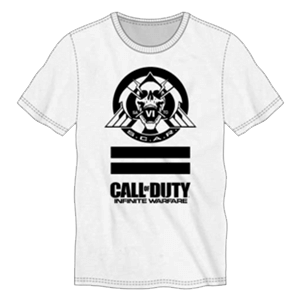 Camiseta COD Infinite Warfare Blanca Talla XL