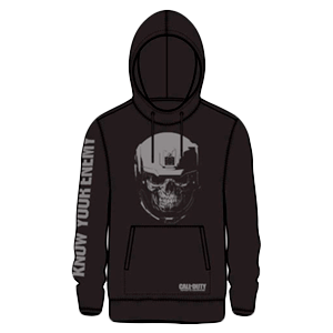Sudadera Capucha COD IW Know your Enemy Talla L