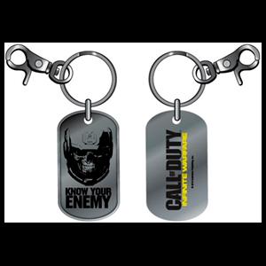Llavero Dog Tag COD IW Know your Enemy