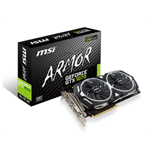 MSI Armor GeForce GTX 1070 8G