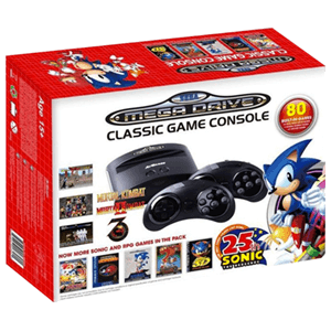 Consola Retro Sega Mega Drive Wireless Ed Sonic 25th Ann.