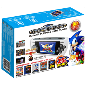 Consola Retro Mega Drive Ultimate Portatil Ed Sonic 25th Ann