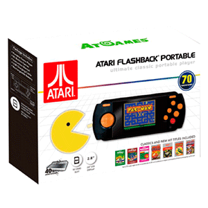 Consola Retro Atari Flashback Portátil 2017 (70 juegos)