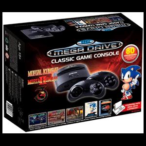 Consola Retro Sega Mega Drive Wireless Ed Mortal Kombat