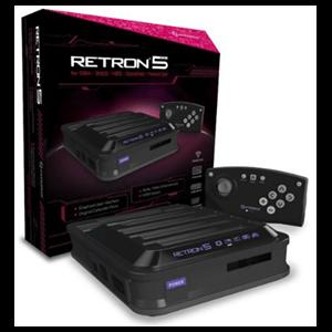 Consola Retron 5 Negra + Mando Bluetooth
