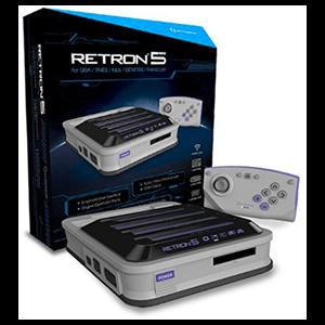 Consola Retron 5 Gris + Mando Bluetooth