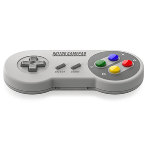 8Bitdo Mando Bluetooth Super Nintendo Colores SFC30