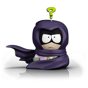 South Park Tfbw 6'' Figurine Mysterion Merch