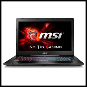 MSI GS72 6QE-411ES - i7-6700 - GTX 970M - 16GB - 1TB HDD + 256GB - 17.3'' 4K - W10 - Stealth Pro 4K