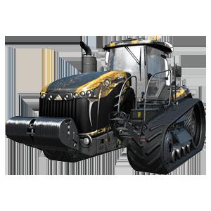 Farming Simulator 17 + DLC tractor Challenger MT800 Field Python PC