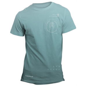 Camiseta Titanfall 2 Azul Talla M