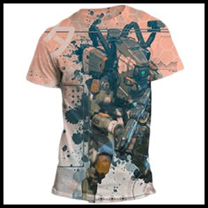 Camiseta Titanfall 2 Sublimation Talla M
