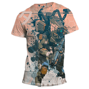 Camiseta Titanfall 2 Sublimation Talla L