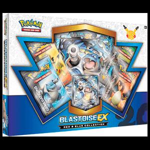 Caja Cartas Pokemon 20 Años JCC Blastoise