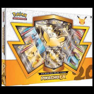 Caja Cartas Pokemon 20 Años JCC Pikachu