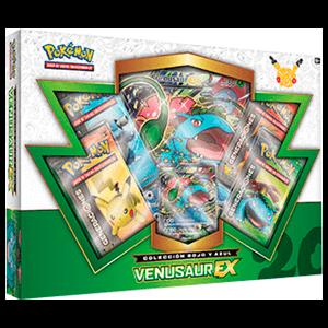 Caja Cartas Pokemon 20 Años JCC Venusaur