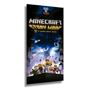 Póster Minecraft: Story Mode - The Complete Adventure