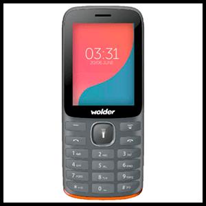 """Teléfono Wolder A27 2,8"""" Dual SIM"""