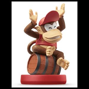 Figura amiibo Diddy Kong - Colección Mario