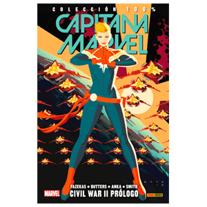100% Marvel. Capitana Marvel: Civil War II Prólogo