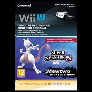 Super Smash Bros Luchador Mewtwo - Wii U