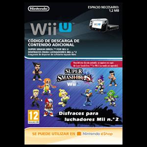 Super Smash Bros Disfraces Para Luchadores Mii 2 - Wii U