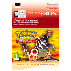 Pokemon Rubí Omega - 3DS