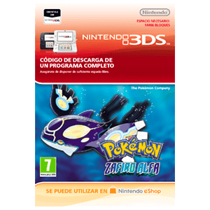 Pokemon Zafiro Alfa - 3DS