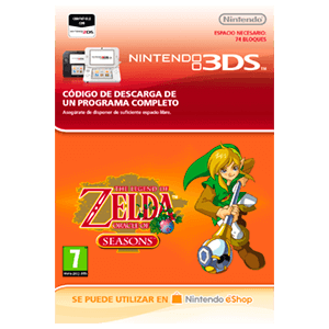 The Legend of Zelda: Oracle of Seasons - 3DS