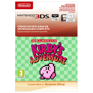 3D Classics Kirby's Adventure 3DS