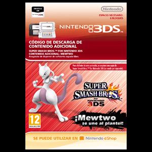 Super Smash Bros Luchador Mewtwo - 3DS