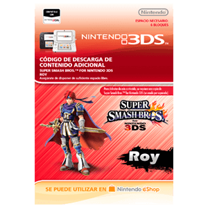 Super Smash Bros Luchador Roy - 3DS