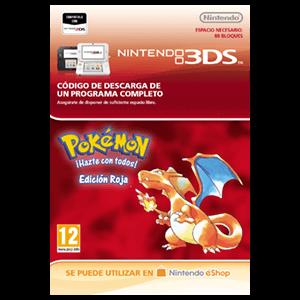 Pokemon Edición Roja - 3DS