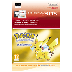Pokemon Edición Amarilla - 3DS