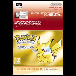 Pokémon Edición Amarilla - 3DS