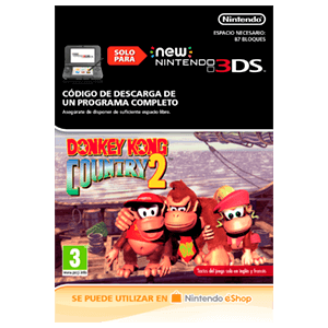 Donkey Kong Country 2: Diddy's Kong Quest - N3DS