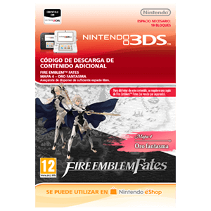 Fire Emblem Fates: Mapa 4 - Oro Fantasma 3DS