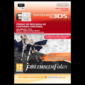 Fire Emblem Fates: Mapa 5 - Batalla en el Museo 3DS