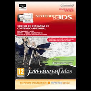 Fire Emblem Fates: Mapa 6 - Todos contra todos 3DS