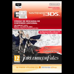 Fire Emblem Fates: Mapa 9 - La Huida de Anna 3DS