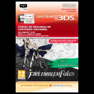 Fire Emblem Fates: Mapa 10 - Carne de Cañón 3DS