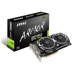MSI Armor OC GeForce GTX 1060 6G