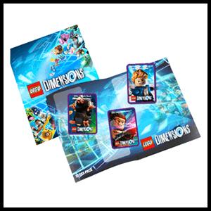 LEGO Dimensions - Álbum de cartas