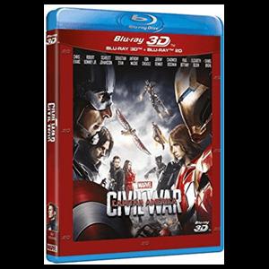 Capitán América: Civil War - BD 3D + 2D