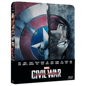 Capitán América: Civil War - Steelbook